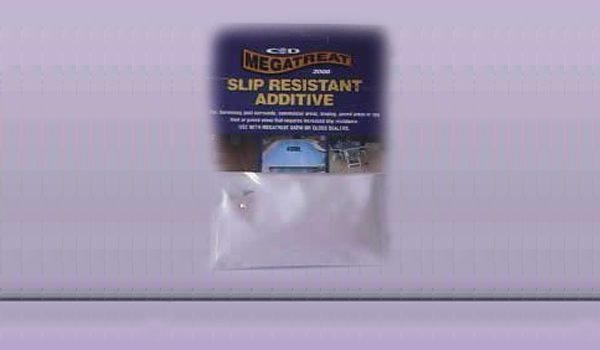 Megatreat Slip Resistant Additive available in 40ml Packets